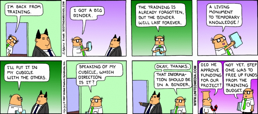 training-dilbert